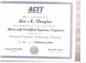 ACTT MCSE 2000