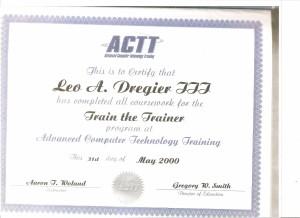 ACTT Train the Trainer